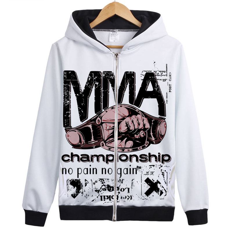 MMA Champship Fight hoodie Unique Design off white hoodie sweatershirt muay thai jacket coat cool jersey for men women