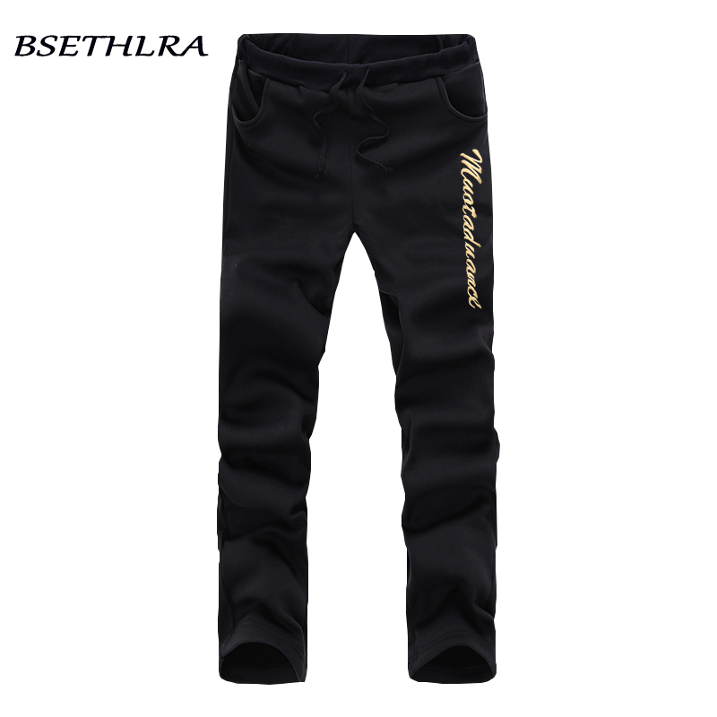 BSETHLRA 2018 Casual Pants Men Autumn Top Design Slim Fit Hip Hop Sweatpants Black Grey  ...