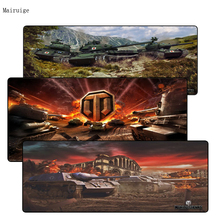 Mairuig 900 400 3mm World of Tanks Gaming Large Mousepad For Gift Computer Notebook Mouse Pad