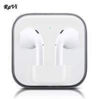 RAVI Touch Wireless Bluetooth Earphones Earbuds Tws Sports Earphone For Samsung iPhone 6 7 8 X In Ear buds Bluetooth 5.0 Headset