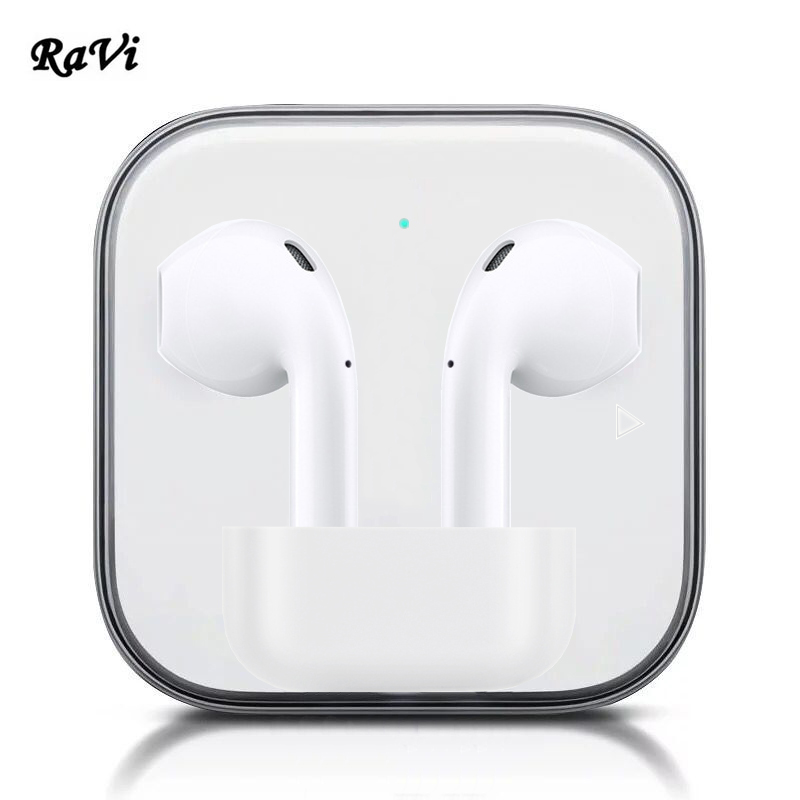 RAVI Touch Wireless Bluetooth Earphones Earbuds Tws Sports Earphone For Samsung iPhone 6 7 8 X In Ear buds Bluetooth 5.0 Headset набор сверел bosch robust line по дереву 8шт 2607010533