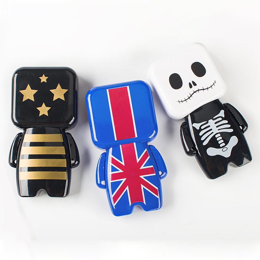 Novelty Skull Robot Correction Tape Students Stationery Kids Halloween Gift Modified Tape School Office Supplies Modification