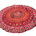 Woweile Essential Round Beach Pool Home Shower Towel Blanket Table Cloth Yoga Mat