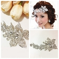 Flower Style Crystal Forehead Accessories Bridal Wedding Head Decoration Cheap Sale Luxurious