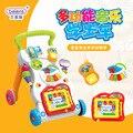 Новое Прибытие Ребенок малыш коляска многофункциональный музыка может скорость ходок детская коляска игрушки раннее образование игрушки детские развивающие игрушки