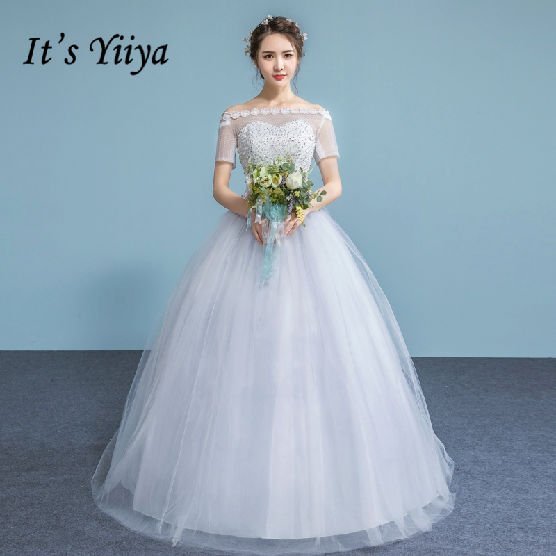 Popular White Short Simple Wedding DressBuy Cheap White Short