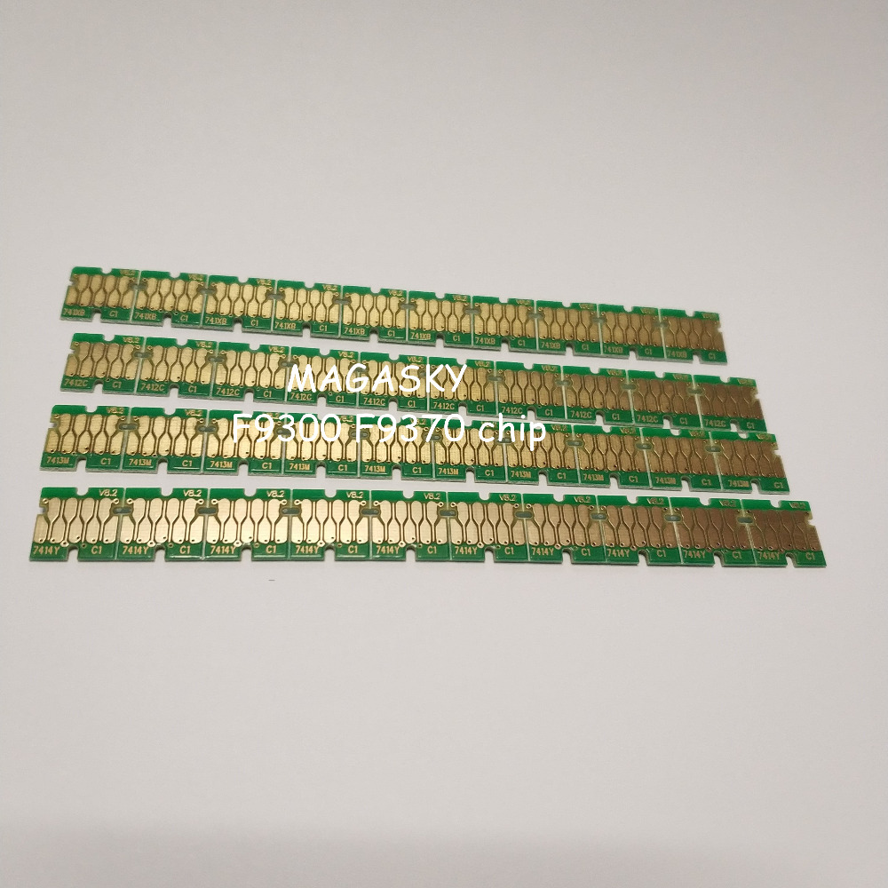 40 pieces surecolor F9370 F9300 chips, one time use chip for Epson
