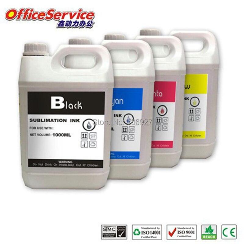 tinta universal da sublimacao de 4x1000 ml especializada para a tinta da transferencia termica da impressora