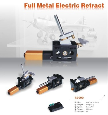 Full Metal Servoless Retracts Set Automatic Retract 25KG Torque 4.6 Sec