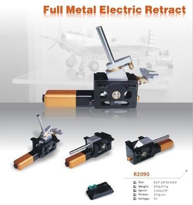 Full Metal Servoless Retracts Set Automatic Retract 25KG Torque 4.6 Sec
