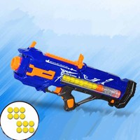 Christmas Gift Soft Bullet Toy Gun Dart Suit Shooting Submachine Gun Weapon Soft Bullets Bursts Gun Funny Outdoors Toys For Kid