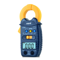 Mini Tester Digital Multimeter Profesional Auto Range AC/DC Current Voltage Clamp Meters Set of Probes Feelers multimeters A3399