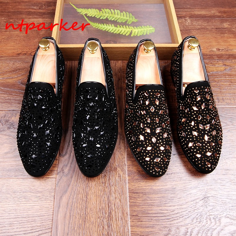 Spikes Studded Men Loafers Shoes Genuine leather Men Casual Shoes Korean Style Driving Moccasins Flats Shoes Hombre Sapatos mycolen men leather casual shoes loafers fashion men shoes moccasins chaussures flats male breathable driving shoes sapatos