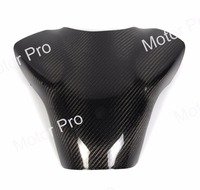 For Yamaha YZF R1 2007 2008 Carbon Fiber Fuel Gas Tank Cover Protector Motorcycle Accessories YZF R1 07 08 Black