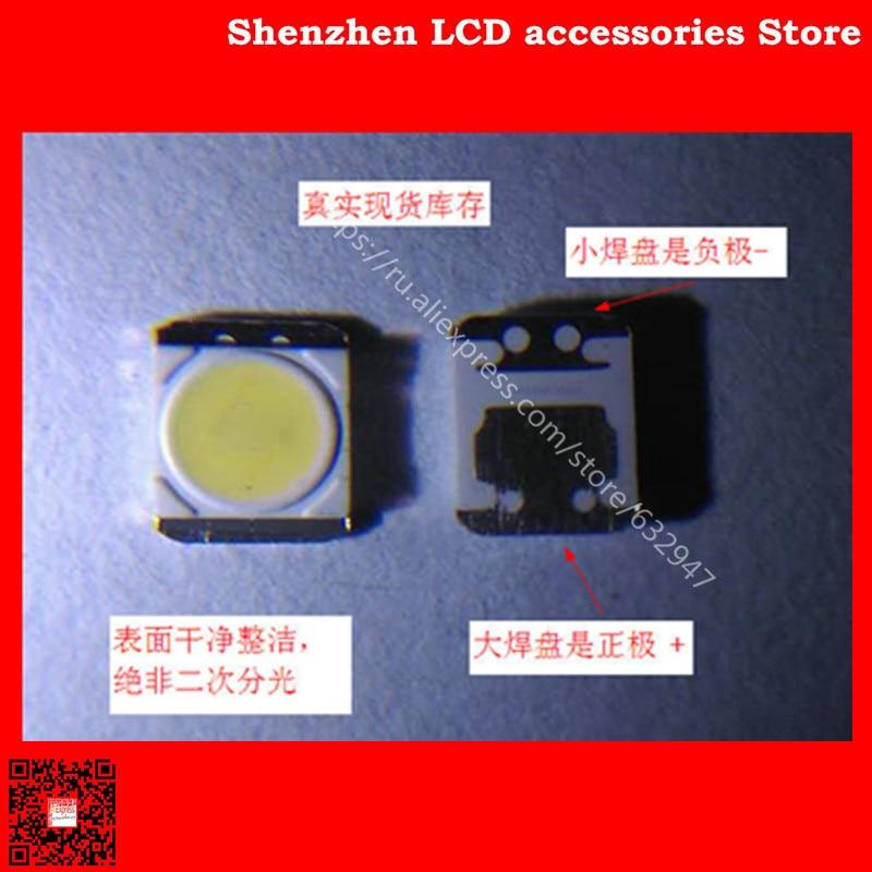 350PCS/Lot   Original South Korean LG TV's Backlit LED Lamp, 3528 Cold White Light 2835  Is  3V  LATWT470RELZK Lens