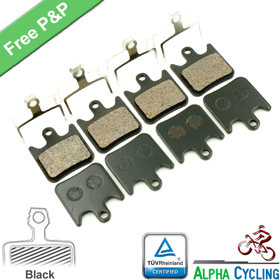 Bicycle Disc Brake Pads for Hope Tech Evo V4 Hydraulic Disc Brake 4 Pairs