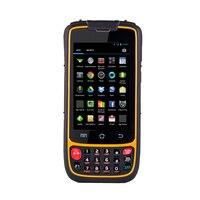 Беспроводной портативный мобильный компьютер 1D/2D сканер штрих кода qr код с 4 г WI FI Bluetooth GPS Камера