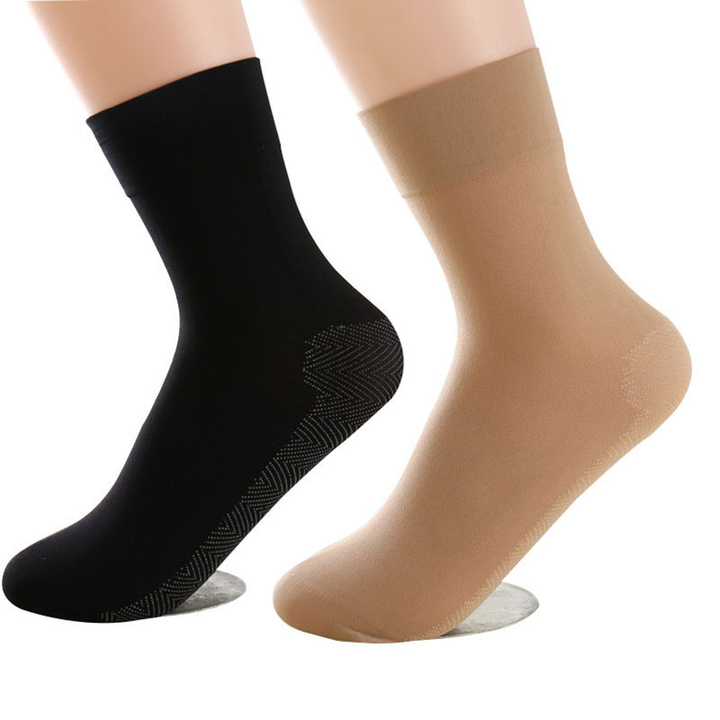 10pairs New Women's Fashion Wide Mouth Nylon Ankle   Socks   Sexy Ladies Girl Low Cut Short Stock Thick Silk Soft Thick Meias 2color