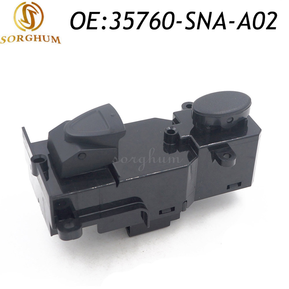 Front Right Passenger Side Power Window Switch 35760-SNA-A02 For 2005-2009 Honda