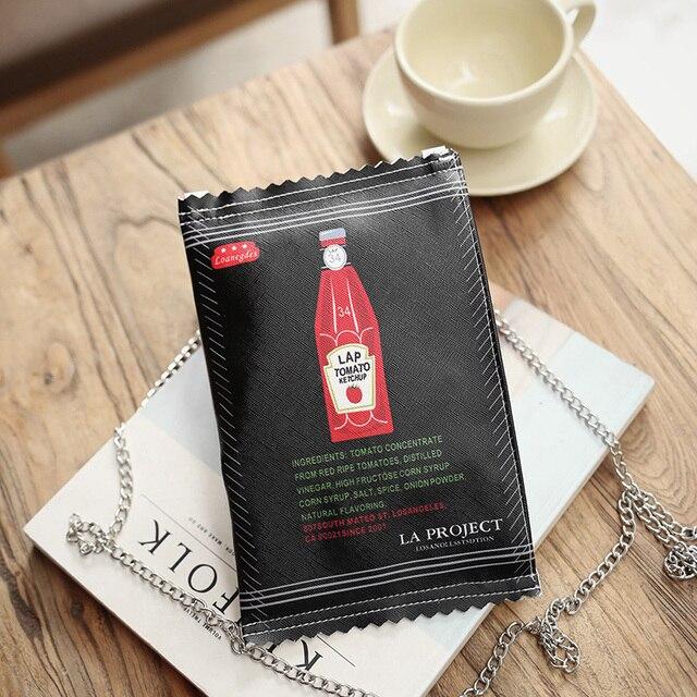 Lap Tomato Sauce Small Shoulder Bag 1