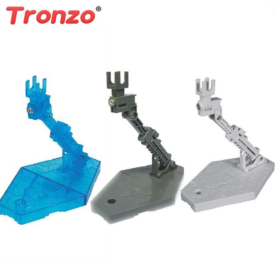 Akcesoria do figurek Tronzo regulowany stojak ekspozytor Gundam wspornik pomocniczy podstawa figurka robota podstawka do RG HG SD 1/144