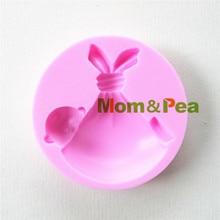 Mamá y guisante 0881 envío gratis bebé lleno de silicona en forma de molde del jabón del molde Cake Decoration Fondant Cake 3D molde de la categoría alimenticia