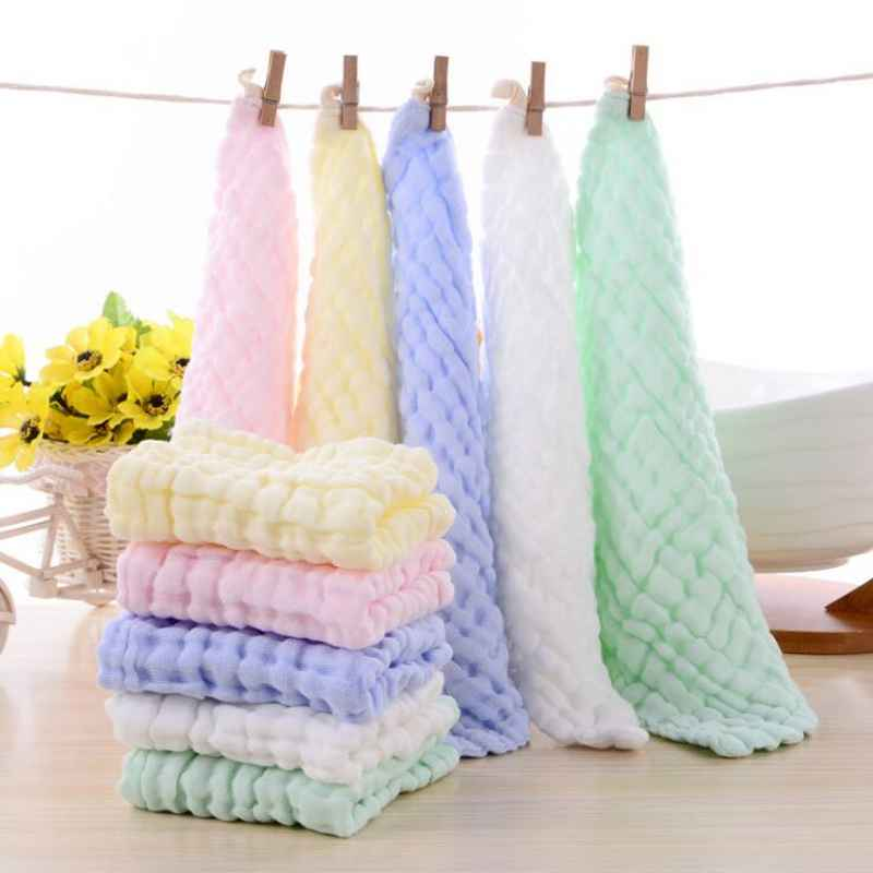 Multifunction 1 Piece Baby Bath Towels 100% Cotton Gauze Solid New Born Baby Towels Ultra Soft Strong Water Absorption Baby Care fashionable color block bus pattern soft cotton hooded towels