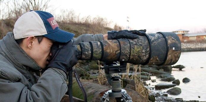 ROLANPRO Lens Camouflage Cover for Nikon AF S 600mm f 4D ED II Lens Protective Case