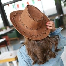 2018 Western Cowboy Hat Hand Made Beach Felt Sunhats Party Cap For Man Woman Unisex Hollow Hats Gift AD0041