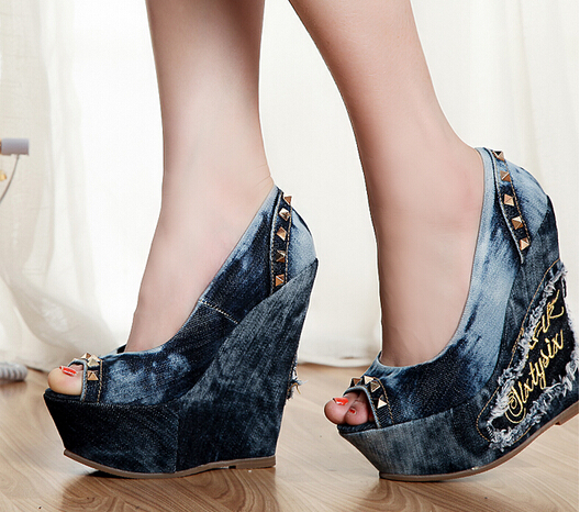 Cheap Wedge Heels
