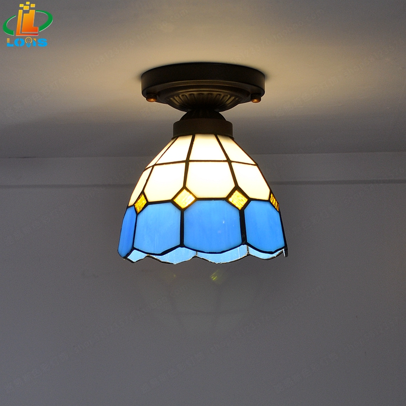 Free Delivery Cheap Tiffany Ceiling Lamps Modern