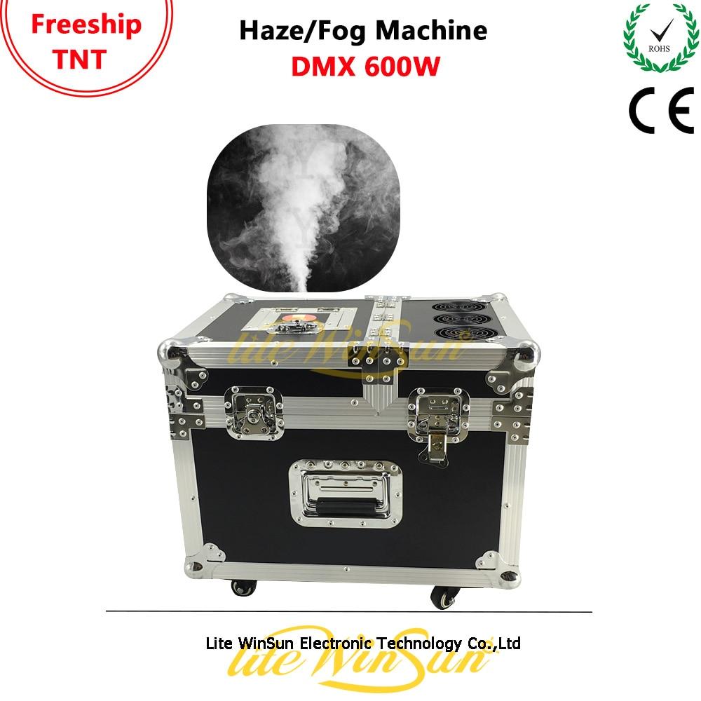 Litewinsune 600 w Pro Tour Hazer Éclairage de Scène À Base D'huile Fazer Haze Machine Zone Effet Haze Machine avec DMX 1 canal