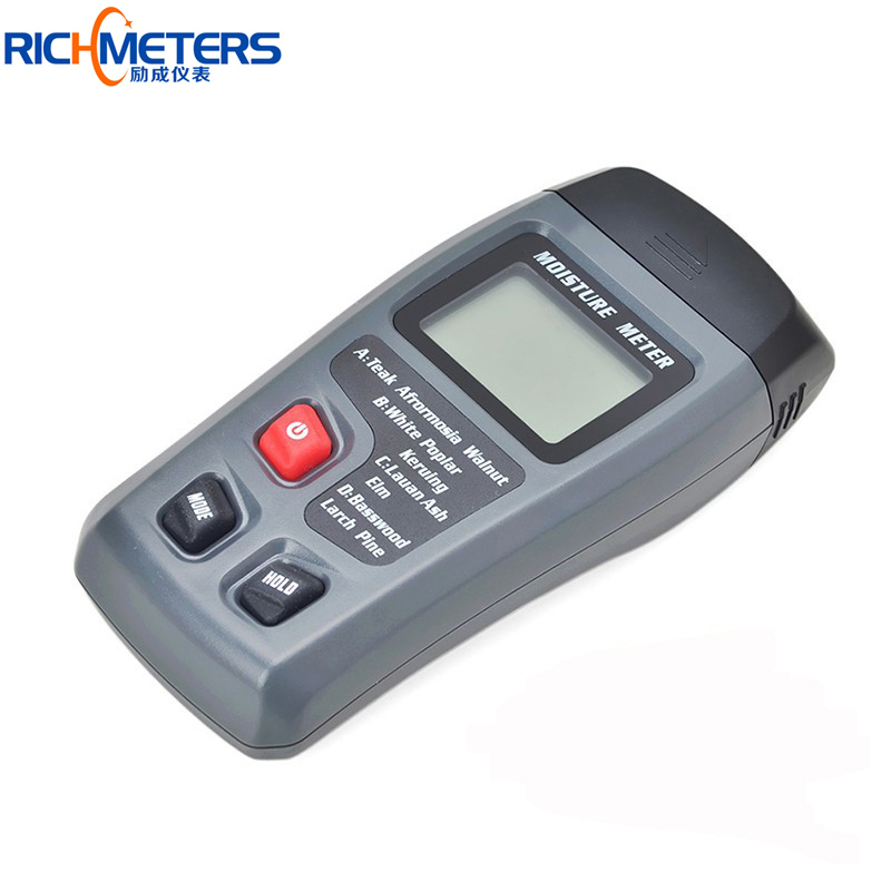 MT10 Digital Wood Moisture Meter Humidity Measuring tool Resolution+-0.1%/Accuracy 0.5% Range:0~99.9%