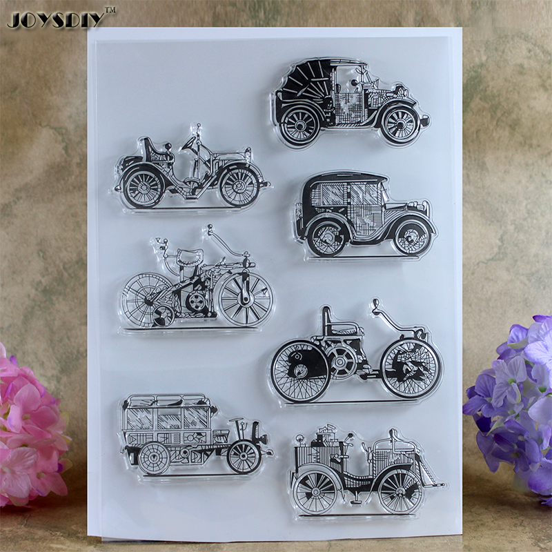New Big Size Jalopy Vintage car Scrapbook DIY photo cards account rubber stamp clear stamp transparent stamp card DIY stamp 21cm spider texture background scrapbook diy photo cards account rubber stamp clear stamp transparent stamp handmade card stamp