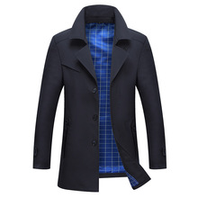 New Spring Autumn Men s Trench Coat Male Blazer Designs Fashion Business Casual Suit Lapel Slim