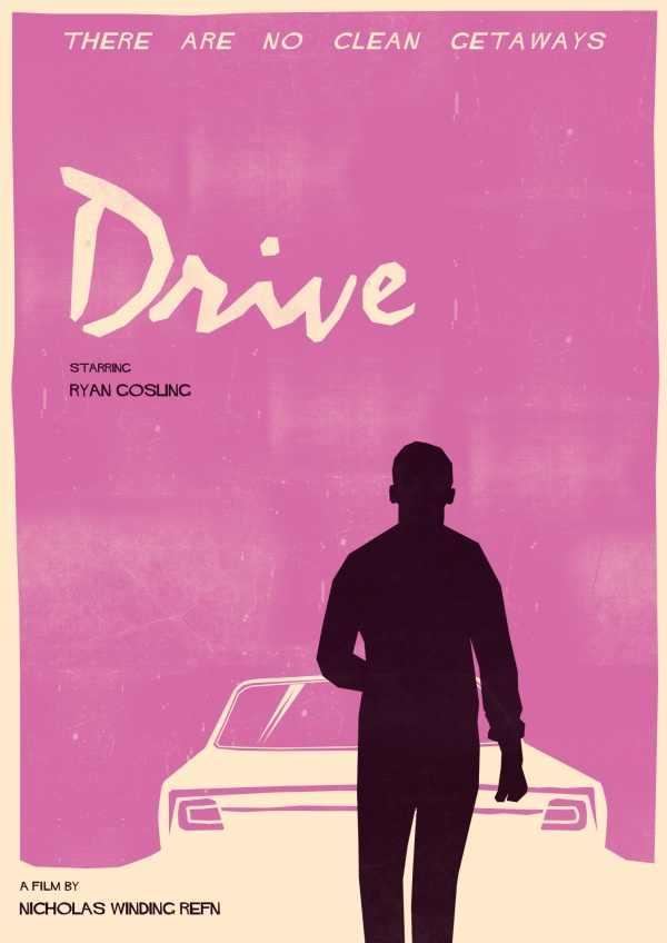 Ryan Gosling Unidade personalizado Decoração Da Parede Clássico do Cartaz do Filme Bar Adesivo de Parede Papel De Parede Pintura Decorativa Da Arte do Tamanho (50x76 cm)