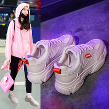 Liren 2019 Summer New Air Mesh Lace-up Casual Women Sneakers Hollow Breathable Non-slip for Sport Designer
