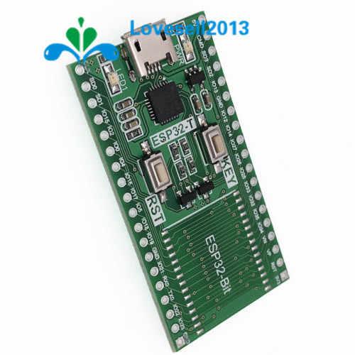 ESP32-Bit ESP32 плата контроллера ESP32-T щит для ESP-32S модуль Bluetooth Wi-Fi CP2104 USB Порты и разъёмы Поддержка Windows, Linux, MAC