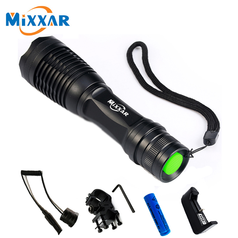 ZK30 CREE XM-L T6 LED Tactical Flashlight 4000 Lumens 5 Modes Zoomable Lanterna LED Outdoor Hunting Flashlights Torch 3800 lumens cree xm l t6 5 modes led tactical flashlight torch waterproof lamp torch hunting flash light lantern for camping z93