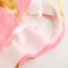 Sundae Angel Girl Print Dress Brand Short Sleeve Kids dresses For Girls Spring Bowknot Chicken Pattern Children's Clothes 3-8 Y