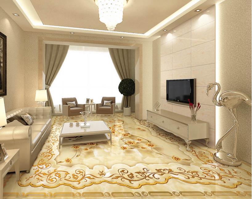 D pavimenti in d wall paper per soggiorno camera modello d