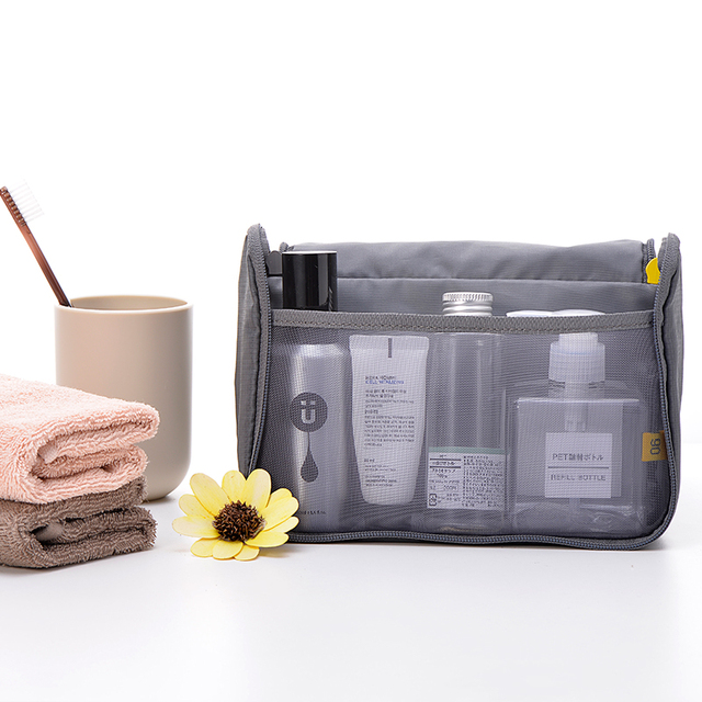 Women Travel Makeup Bag Lightweight Waterproof Portable Wash Bag