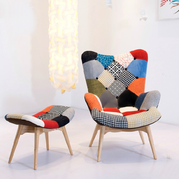 European Single Study Lazy Recliner Chair Fabric Living Room. Single Chairs Living Room   Adenauart com