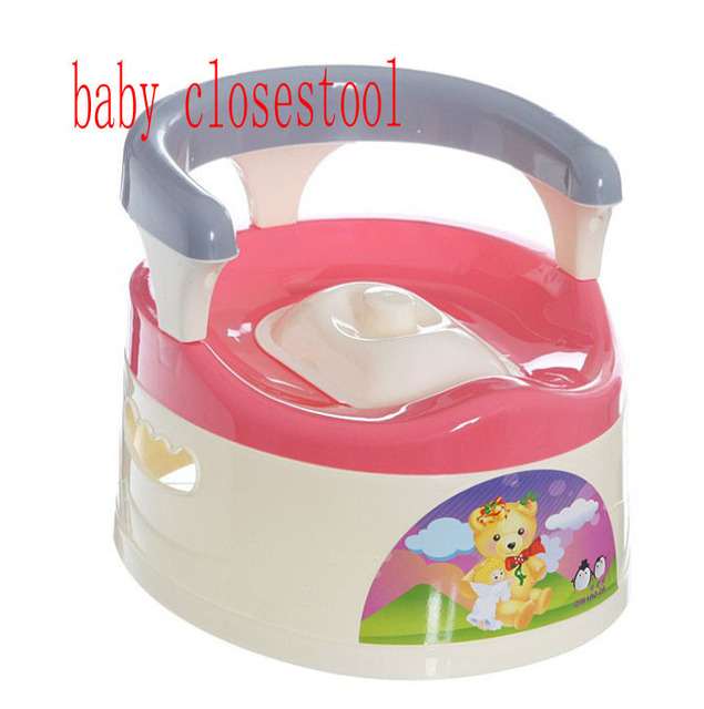 Baby Closestool Big Child Implement Children Draw Out Toilet Bowl Back Sit