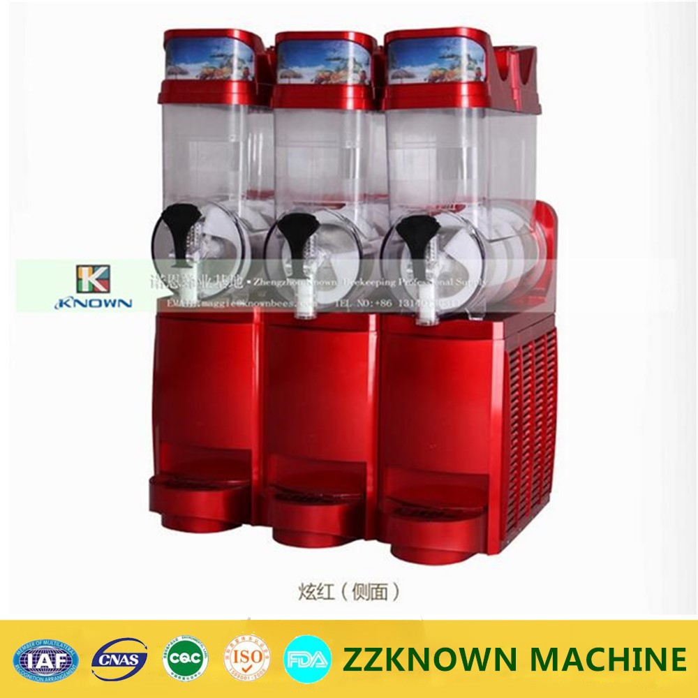 Commercial Stainless Steel three cylinder Ice Slush Machine | Smoothie Slush MachineCommercial Stainless Steel three cylinder Ice Slush Machine | Smoothie Slush Machine