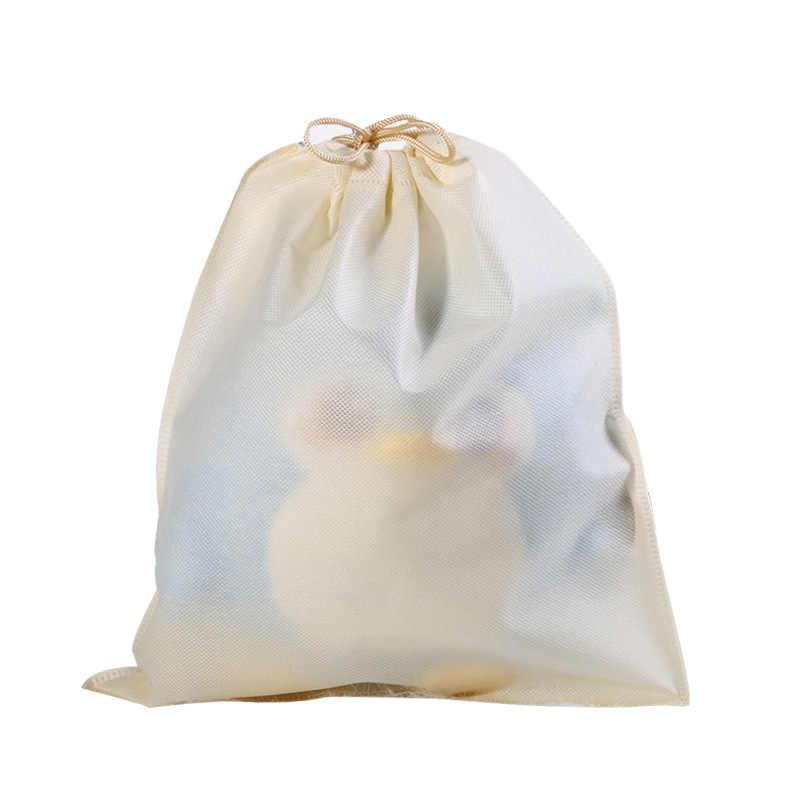 Impermeabile Cornici e articoli da esposizione Scarpa di stoccaggio Tasca organizzare sacchetto Non tessuto tessuto Disegnare Borse Coulisse tasca Borsa Da Toilette Caso di nuovo