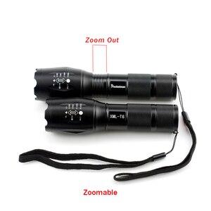 Image 2 - مصباح ليد جيب 5000LM الترا برايت مقاوم للماء الشعلة T6/L2/V6 أضواء التخييم 5 طرق زوومابلي ضوء مع شاحن بطارية 18650