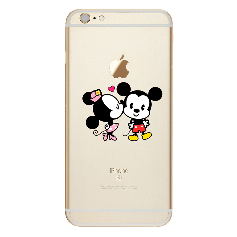 Funny Minnie Mickey Cartoon Soft TPU Case For iPhone 8 7 Plus 8 7 Characters IMD