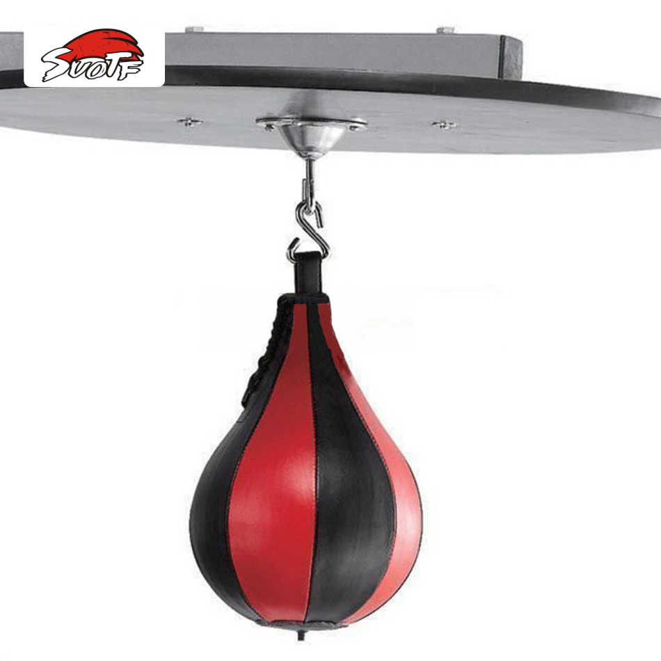 SUOTF punching bag stand MMA Men's Fitness pear-shaped ball rack Sanda boxing speed ball vent equipment speed bag muay thai