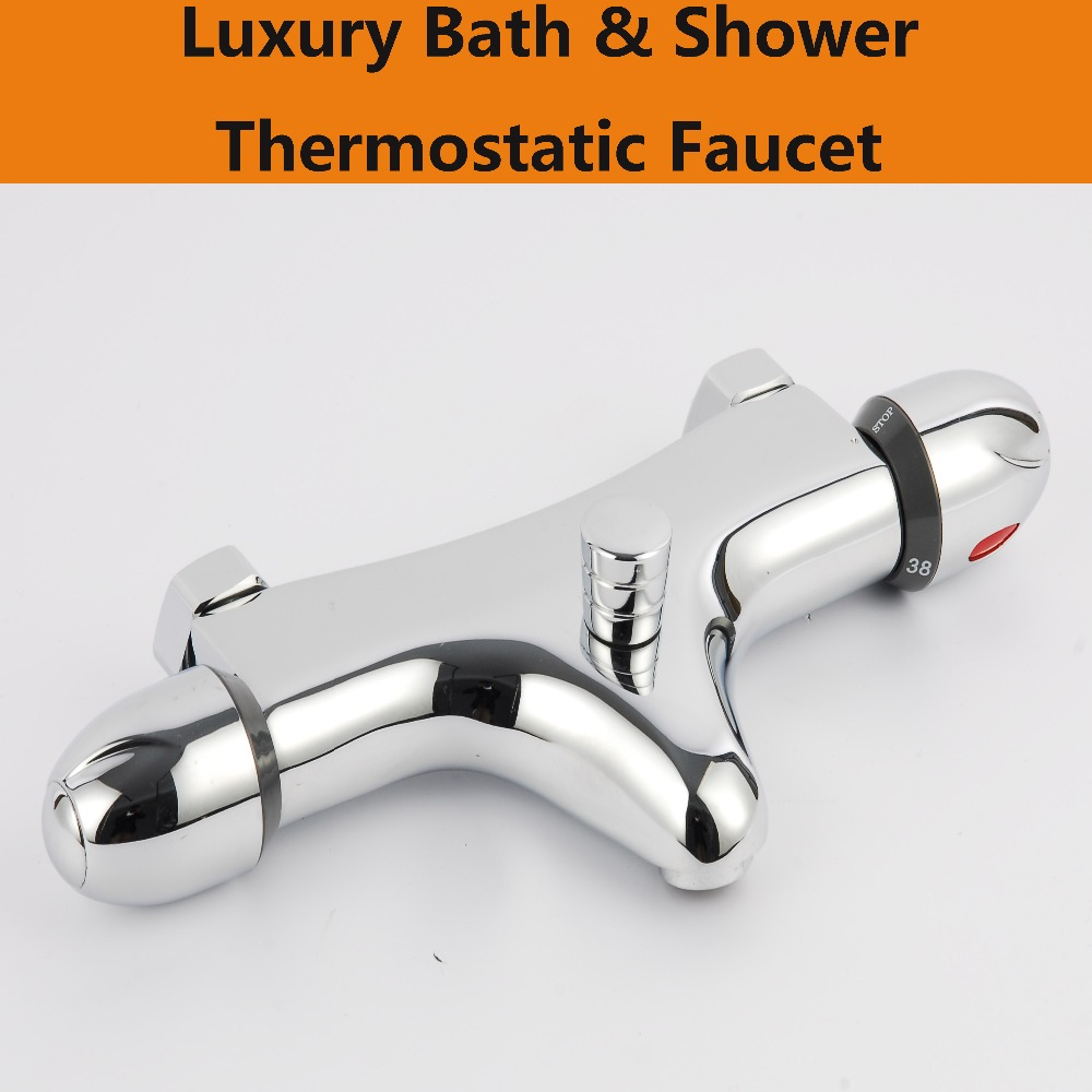 popular mixer valves buy cheap mixer valves lots from china mixer free shipping luxury bathtub thermostatic faucet bath and shower mixer valve bathroom taps brass hh